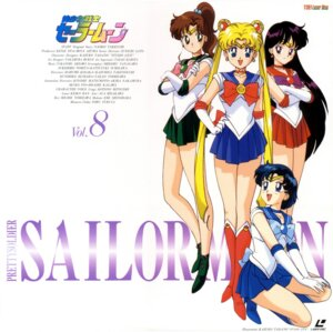 Rating: Safe Score: 7 Tags: disc_cover heels hino_rei kino_makoto mizuno_ami sailor_moon tadano_kazuko tsukino_usagi User: Radioactive