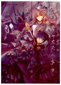 Rating: Questionable Score: 7 Tags: blood dress guro sinsora sword t.p.g User: Radioactive