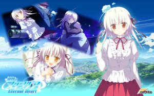 Rating: Safe Score: 20 Tags: favorite hoshizora_no_memoria ototsu_yume shida_kazuhiro wallpaper User: ToshioArt