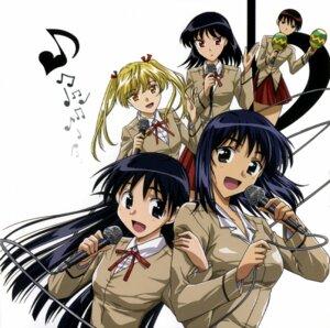Rating: Safe Score: 5 Tags: sawachika_eri school_rumble seifuku suou_mikoto takano_akira tsukamoto_tenma tsukamoto_yakumo User: Radioactive