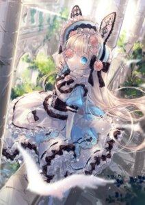 Rating: Safe Score: 37 Tags: animal_ears bunny_ears eyepatch gothic_lolita lolita_fashion yumeichigo_alice User: Mr_GT
