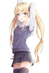 Rating: Safe Score: 2 Tags: kokose saenai_heroine_no_sodatekata sawamura_spencer_eriri seifuku sweater tagme thighhighs User: Dreista