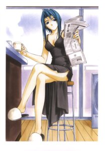 Rating: Safe Score: 21 Tags: cleavage dress hashimoto_takashi iwakura_natsuki pia_carrot User: androgyne