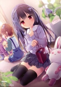 Rating: Safe Score: 130 Tags: konomi neko sweater thighhighs User: Twinsenzw