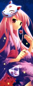 Rating: Safe Score: 5 Tags: lucy_maria_misora overfiltered stick_poster to_heart_2 to_heart_(series) yukata User: Radioactive