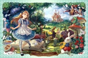 Rating: Safe Score: 38 Tags: alice alice_in_wonderland cheshire_cat dress kakyouka mad_hatter pantyhose queen_of_hearts User: blooregardo