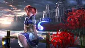 Rating: Safe Score: 41 Tags: landscape onozuka_komachi ryosios touhou weapon User: Mr_GT