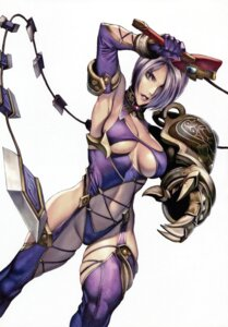Rating: Questionable Score: 51 Tags: armor cleavage homare homare_dou ivy_valentine leotard soul_calibur stockings thighhighs underboob User: Shuurinakisame