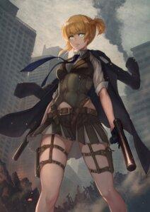 Rating: Safe Score: 16 Tags: garter girls_frontline gun welrod_mk2_(girls_frontline) yasu_(segawahiroyasu) User: Dreista