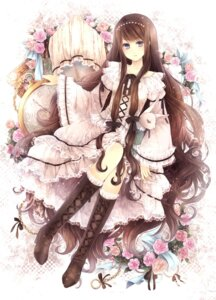 Rating: Safe Score: 45 Tags: dress gothic_lolita hagiwara_rin lolita_fashion User: blooregardo