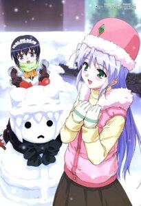 Rating: Safe Score: 8 Tags: feena_fam_earthlight maid mia_clementis watanabe_yoshihiro yoake_mae_yori_ruriiro_na User: vita