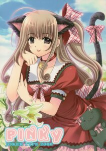 Rating: Safe Score: 24 Tags: animal_ears nekomimi nishimata_aoi tail User: syaoran-kun