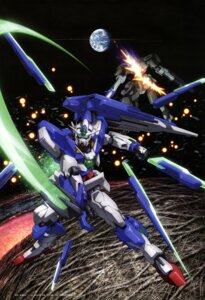 Rating: Safe Score: 11 Tags: 00_qan[t] gundam gundam_00 gundam_00:_a_wakening_of_the_trailblazer mecha sword washikita_kyouta User: drop