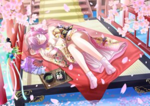 Rating: Questionable Score: 28 Tags: cleavage hadi kimono saigyouji_yuyuko touhou User: ddns001