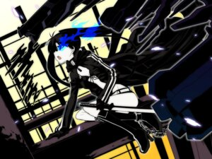Rating: Safe Score: 16 Tags: black_rock_shooter black_rock_shooter_(character) gun makishima_azusa sword taihi_mixer vocaloid wallpaper User: alimilena