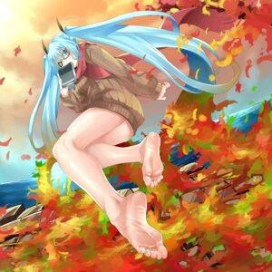 Rating: Safe Score: 16 Tags: eiji_(eiji) feet hatsune_miku megane sweater vocaloid User: Mr_GT