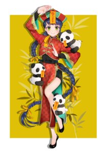 Rating: Safe Score: 18 Tags: asian_clothes chinadress tagme usamochi_(7290381) User: Dreista