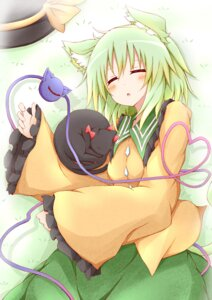 Rating: Safe Score: 14 Tags: animal_ears kaenbyou_rin_(cat) karamone-ze komeiji_koishi neko touhou User: 椎名深夏