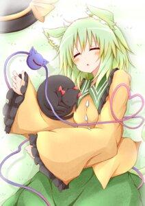 Rating: Safe Score: 13 Tags: animal_ears kaenbyou_rin_(cat) karamone-ze komeiji_koishi neko touhou User: 椎名深夏