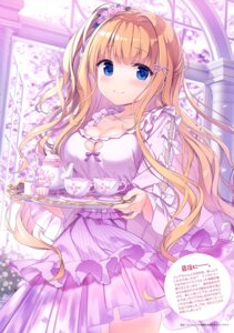 Rating: Questionable Score: 37 Tags: cleavage dress kimishima_ao lolita_fashion saijo_melia see_through User: drop