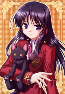 Rating: Safe Score: 14 Tags: bekkankou fixed fortune_arterial kuze_kiriha neko User: vita