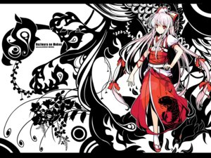 Rating: Safe Score: 35 Tags: fujiwara_no_mokou ideolo touhou wallpaper User: fairyren