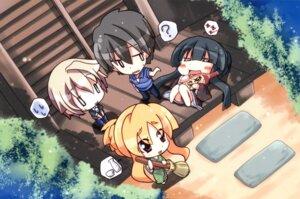 Rating: Safe Score: 15 Tags: chibi hoshino_ayumu hoshino_kazuma hoshizora_e_kakaru_hashi sawano_akira toudou_tsumugi yorozu_senka User: fireattack