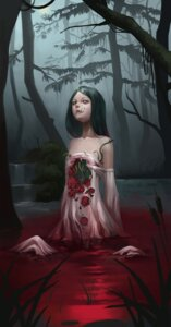 Rating: Explicit Score: 27 Tags: blood dress guro midfinger22 wet wet_clothes User: Mr_GT
