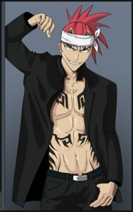 Rating: Safe Score: 8 Tags: abarai_renji bleach male signed vector_trace User: charunetra