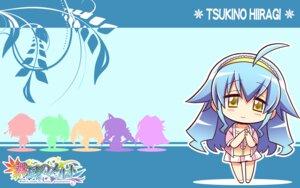 Rating: Safe Score: 10 Tags: chibi hiiragi_tsukino komowata_haruka maikaze_no_melt wallpaper User: Harpuia