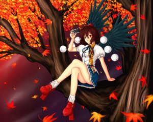 Rating: Safe Score: 9 Tags: hero_rice shameimaru_aya touhou User: konstargirl