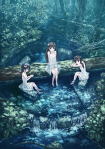 Rating: Safe Score: 50 Tags: dress isou_nagi summer_dress wet_clothes User: Radioactive
