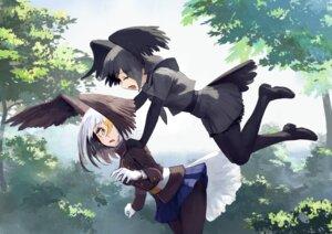 Rating: Safe Score: 18 Tags: kemono_friends pantyhose tail treeware wings User: nphuongsun93