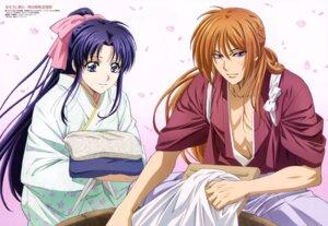 Rating: Safe Score: 18 Tags: himura_kenshin kamiya_kaoru kimono nakajima_atsuko rurouni_kenshin User: drop