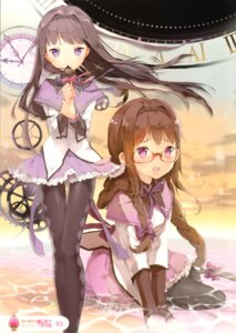 Rating: Safe Score: 53 Tags: akemi_homura anmi megane pantyhose puella_magi_madoka_magica screening User: Radioactive