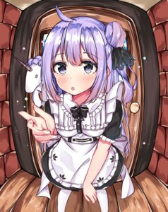Rating: Safe Score: 15 Tags: azur_lane maid shigurene unicorn_(azur_lane) User: Spidey