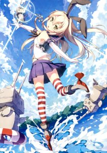 Rating: Safe Score: 154 Tags: 5_nenme_no_houkago kantai_collection kantoku rensouhou-chan shimakaze_(kancolle) thighhighs User: Hatsukoi