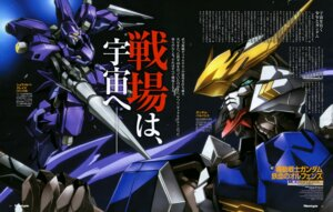 Rating: Safe Score: 9 Tags: arisawa_hiroshi gundam gundam_iron-blooded_orphans mecha User: drop