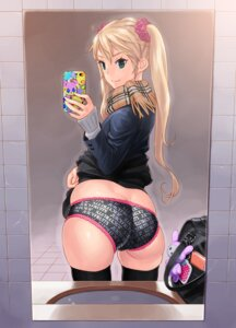 Rating: Questionable Score: 61 Tags: ass pantsu red-p thighhighs User: gnarf1975