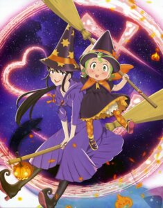 Rating: Safe Score: 10 Tags: bloomers halloween majokko_shimai_no_yoyo_to_nene nene_(majokko_shimai_no_yoyo_to_nene) witch yoyo_(majokko_shimai_no_yoyo_to_nene) User: dansetone