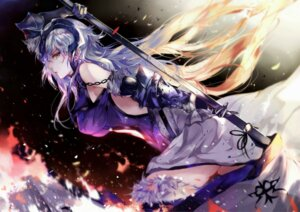 Rating: Safe Score: 64 Tags: armor fate/grand_order jeanne_d'arc jeanne_d'arc_(alter)_(fate) thighhighs vardan User: mash