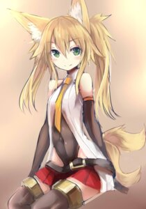 Rating: Safe Score: 51 Tags: animal_ears haik kitsune kokonoe_tsubaki tail User: zero|fade