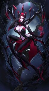 Rating: Safe Score: 31 Tags: armor citemer cleavage elise_(league_of_legends) league_of_legends no_bra wings User: charunetra