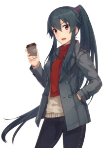 Rating: Safe Score: 58 Tags: kantai_collection konishi sweater yahagi_(kancolle) User: sinzo