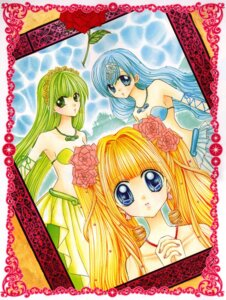 Rating: Safe Score: 5 Tags: bikini_top cleavage hanamori_pink houshou_hanon mermaid mermaid_melody_pichi_pichi_pitch nanami_luchia toin_rina User: Radioactive