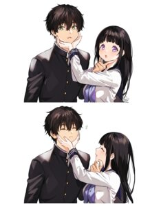 Rating: Safe Score: 25 Tags: chitanda_eru hyouka mery_(apfl0515) seifuku User: Mr_GT
