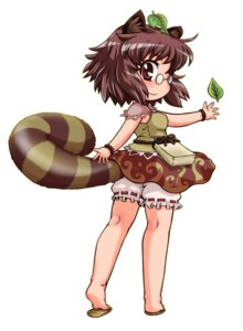 Rating: Safe Score: 6 Tags: animal_ears bloomers futatsuiwa_mamizou megane tachikawa tail touhou User: Radioactive