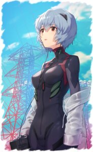 Rating: Questionable Score: 22 Tags: ayanami_rei bodysuit makamati neon_genesis_evangelion User: Dreista