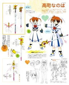 Rating: Safe Score: 3 Tags: character_design mahou_shoujo_lyrical_nanoha takamachi_nanoha User: admin2