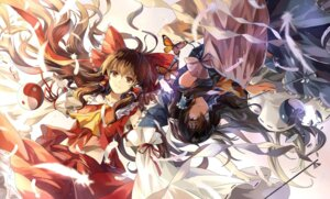 Rating: Questionable Score: 25 Tags: hakurei_reimu neko_(yanshoujie) touhou User: blooregardo